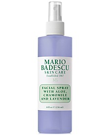 Facial Spray With Aloe, Chamomile & Lavender, 8-oz.