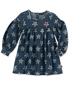 Tommy Hilfiger Toddler Girls Denim Cotton Dress