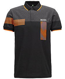 BOSS Men's Regular/Classic-Fit Piqué Polo
