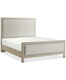 Parker Upholstered Queen Bed, Created for Macy's