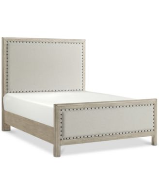 Parker Upholstered Full Bed, Created for Macy's
