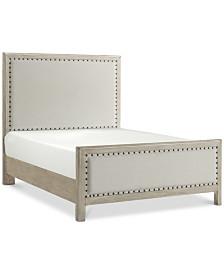 Parker Upholstered Full Bed, Created for Macy's