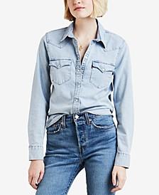 Women's Cotton Ultimate Western Denim Shirt