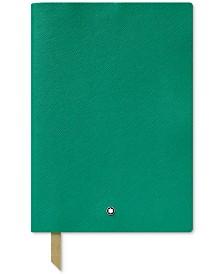 Montblanc Fine Stationery Emerald Green Notebook
