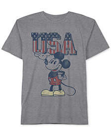 Disney Little Boys Mickey Mouse-Print T-Shirt