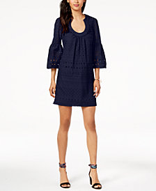 Trina Turk Bonita Eyelet Shift Dress