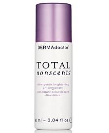DERMAdoctor Total Nonscents Ultra-Gentle Brightening Antiperspirant, 3.04-oz.