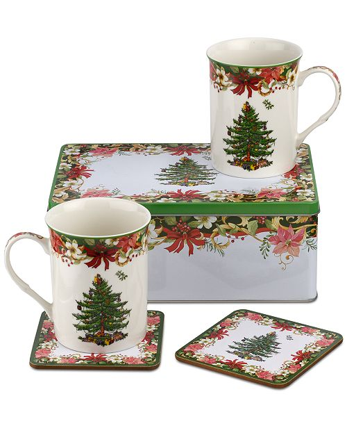 Spode Christmas Tree Annual 5 Pc Collectors Tin Set Reviews