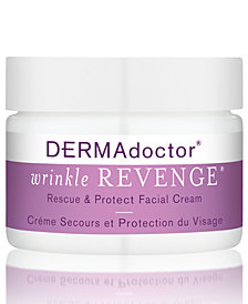 DERMAdoctor Wrinkle Revenge Rescue & Protect Facial Cream, 1.7-oz.