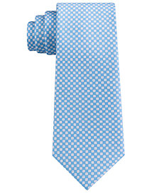 Michael Kors Men's Grid Slim Silk Tie