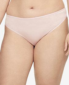 Calvin Klein Plus Size Form Stretch Bikini QD3708, First at Macy's