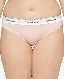 Plus Size Modern Cotton Thong QF5117