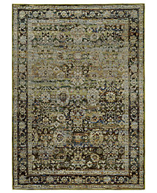 "Macy's Fine Rug Gallery Journey Sardana Green 10' x 13' 2"" Area Rug"