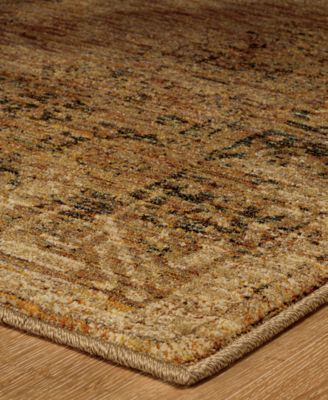 "Journey Cava Gold 10' x 13' 2"" Area Rug"