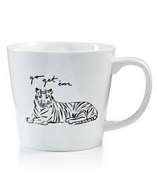 The Cellar Go Get Em Tiger Large Mug, Created for Macy's