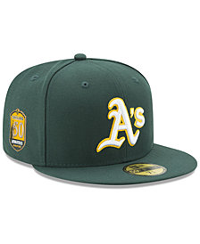 New Era Oakland Athletics Authentic Collection 50th Anniversary 59FIFTY Fitted Cap