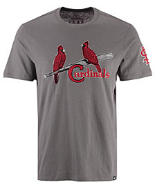 '47 Brand Men's St. Louis Cardinals Fieldhouse Basic T-Shirt