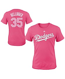 Cody Bellinger Los Angeles Dodgers Player T-Shirt, Girls (4-16)