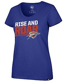 '47 Brand Women's Oklahoma City Thunder Slogan Scoop T-Shirt