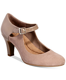 Giani Bernini Velmah Memory Foam Mary Jane Pumps, Created for Macy's
