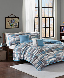 Intelligent Design Clive Reversible 5-Pc. Full/Queen Quilted Coverlet Set