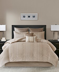 Camelia 8-Pc. Queen Comforter Set