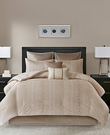 Madison Park Camelia 8-Pc. Queen Comforter Set