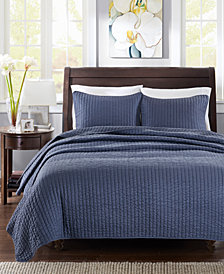 Madison Park Keaton 3-Pc. Quilted King/California King Coverlet Set