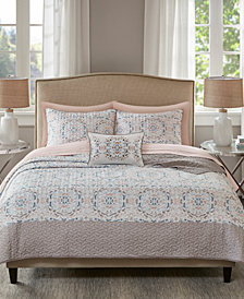 Madison Park Essentials Voss Reversible 8-Pc. Queen Coverlet Set