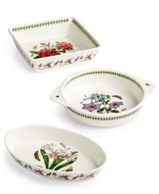 Botanic Garden Oval Covered Casserole