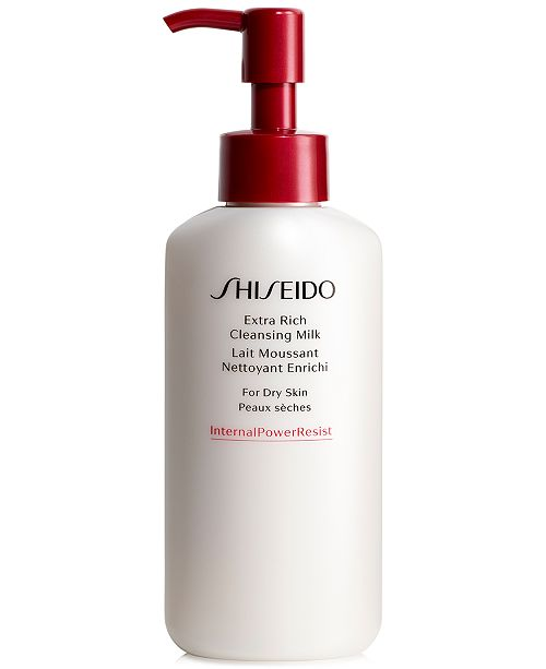 Shiseido Extra Rich Cleansing Milk (For Dry Skin), 4.2-oz.