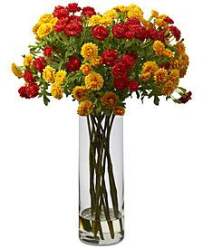 Nearly Natural Japanese Artificial Flower Arrangement
