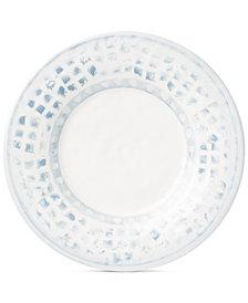 VIETRI Mosaico Blu Salad Plate