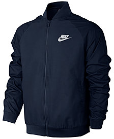 Nike Men's Woven Players Bomber Jacket