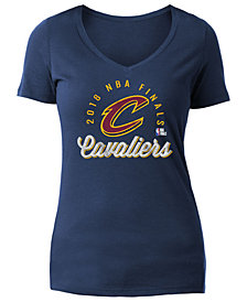 5th & Ocean Women's Cleveland Cavaliers Finals Bound Glitter T-Shirt