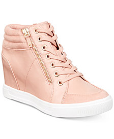ALDO Kaia Lace-Up Wedge Sneakers