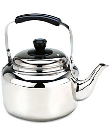 Demeyere 6.3-Qt. Stainless Steel Tea Kettle