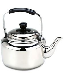 Demeyere 6.3-Qt. Stainless Steel Tea Kettle