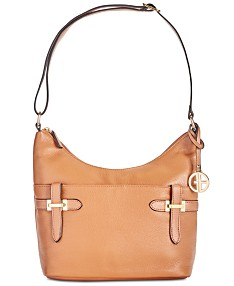ba8c774783d3 Giani Bernini Bridle Leather Hobo, Created for Macy's
