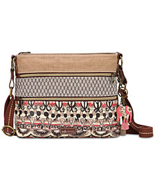 Sakroots Coated Canvas Crossbody
