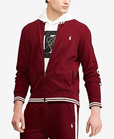Polo Ralph Lauren Men's Big & Tall Knit Cotton Baseball Jacket