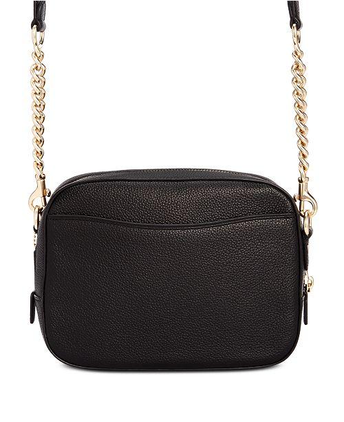 492b52b0ffc COACH Camera Bag in Polished Pebble Leather & Reviews - Handbags ...