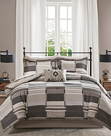 Madison Park Alberta 9-Pc. Full Comforter Set