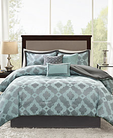 Madison Park Beckett 7-Pc. Queen Comforter Set