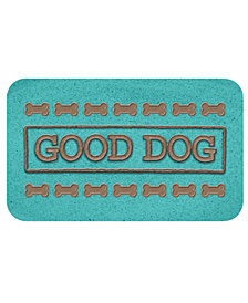 TarHong Good Dog Teal Pet Placemat