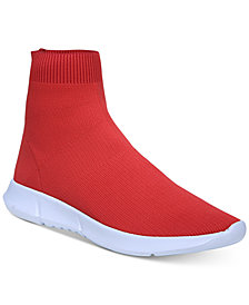 Bar III Levan Sock Sneakers, Created for Macy's