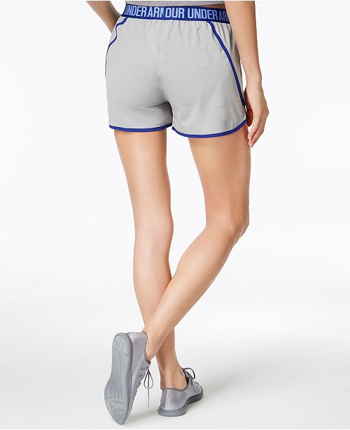 Shorts Armour Under Play Up Steel Blue Woven 6B1Uvq