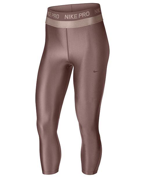 e51c2c9c39ed4 Nike Pro HyperCool Cropped Leggings & Reviews - Pants & Capris ...