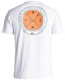 Quiksilver Men's Waterman Mullaway Logo-Print Amphibian Surf T-Shirt
