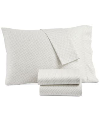 CLOSEOUT! Kashmir Cotton Sateen 230-Thread Count Printed Set of 2 King Pillowcases, Created for Macy's